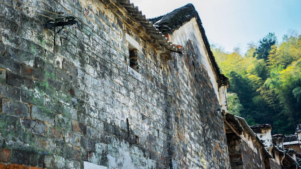 村中的古建筑